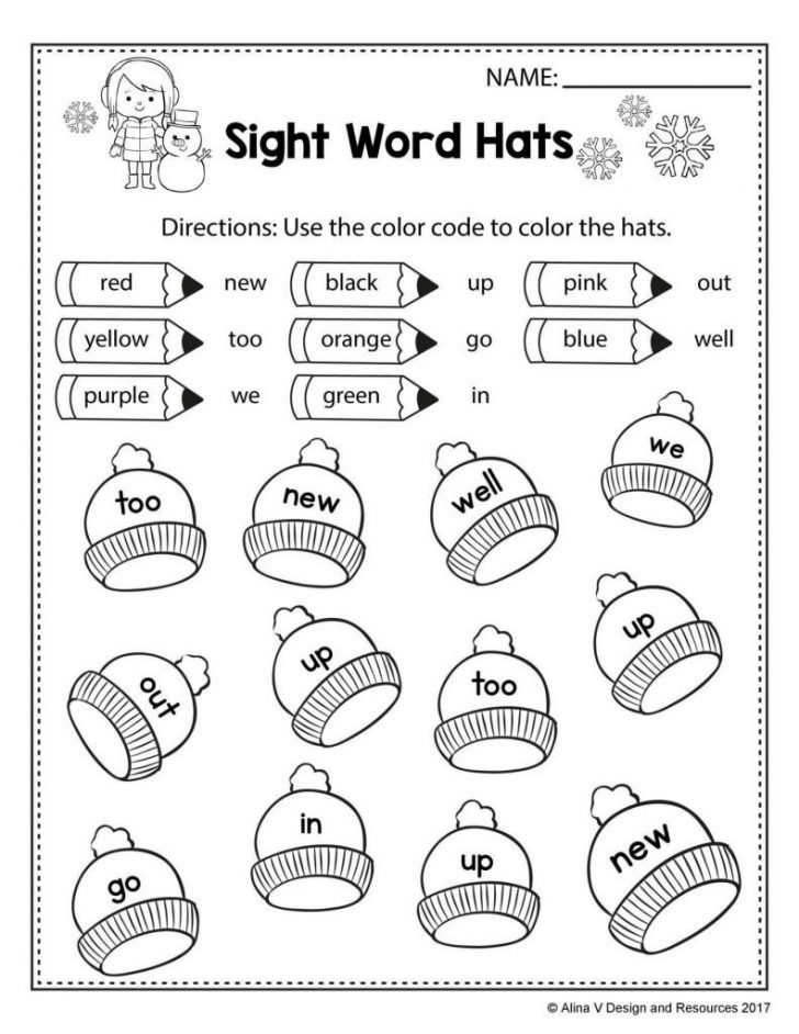 Phonics Pictures Printable Free