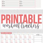Free: Fitness Tracker Printables   Free Printable Fitness Tracker
