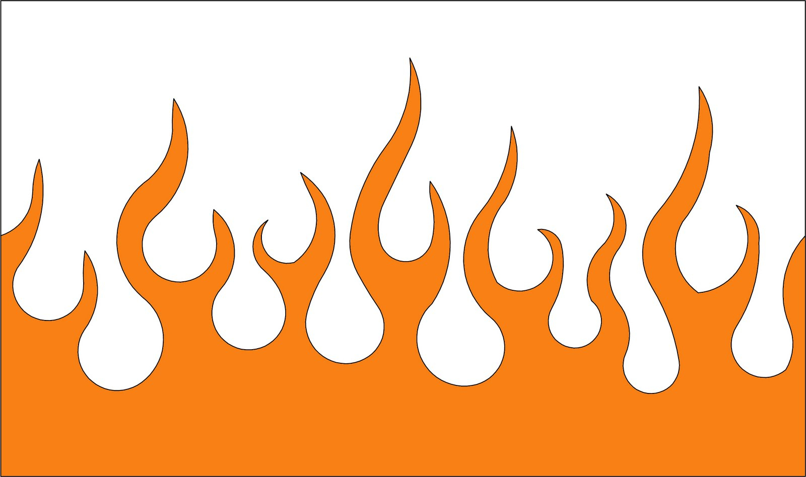 graphic about Flame Stencils Free Printable identify Free of charge Flame Template, Obtain Cost-free Clip Artwork, No cost Clip Artwork