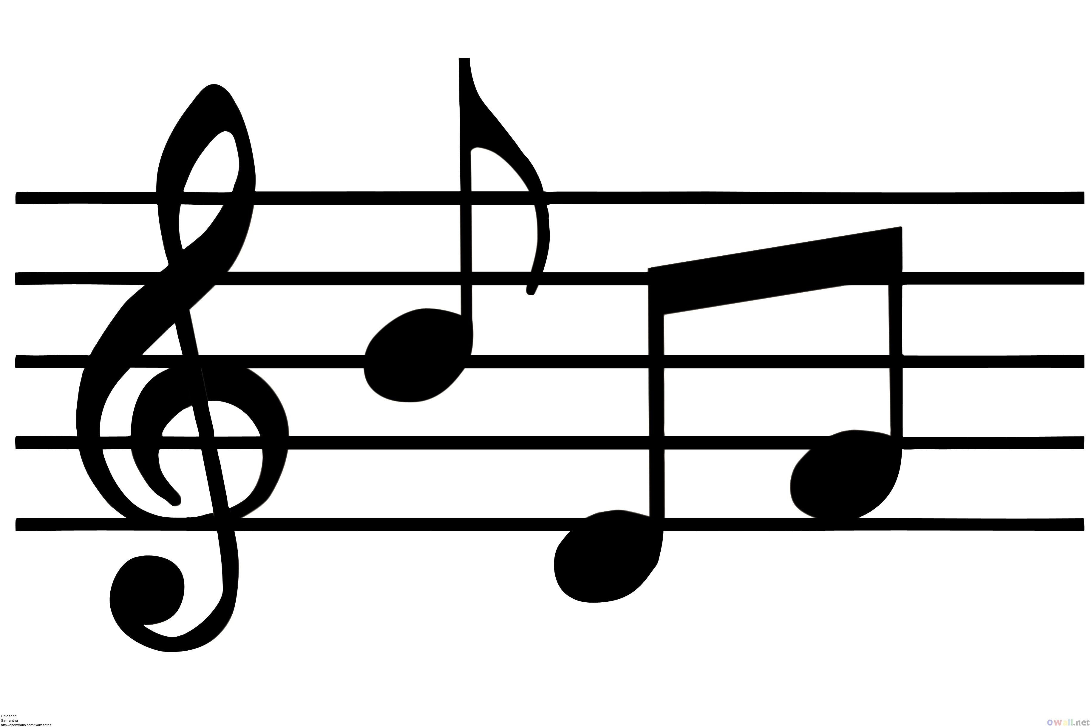 Free Free Pictures Of Music Notes, Download Free Clip Art, Free Clip - Free Printable Pictures Of Music Notes