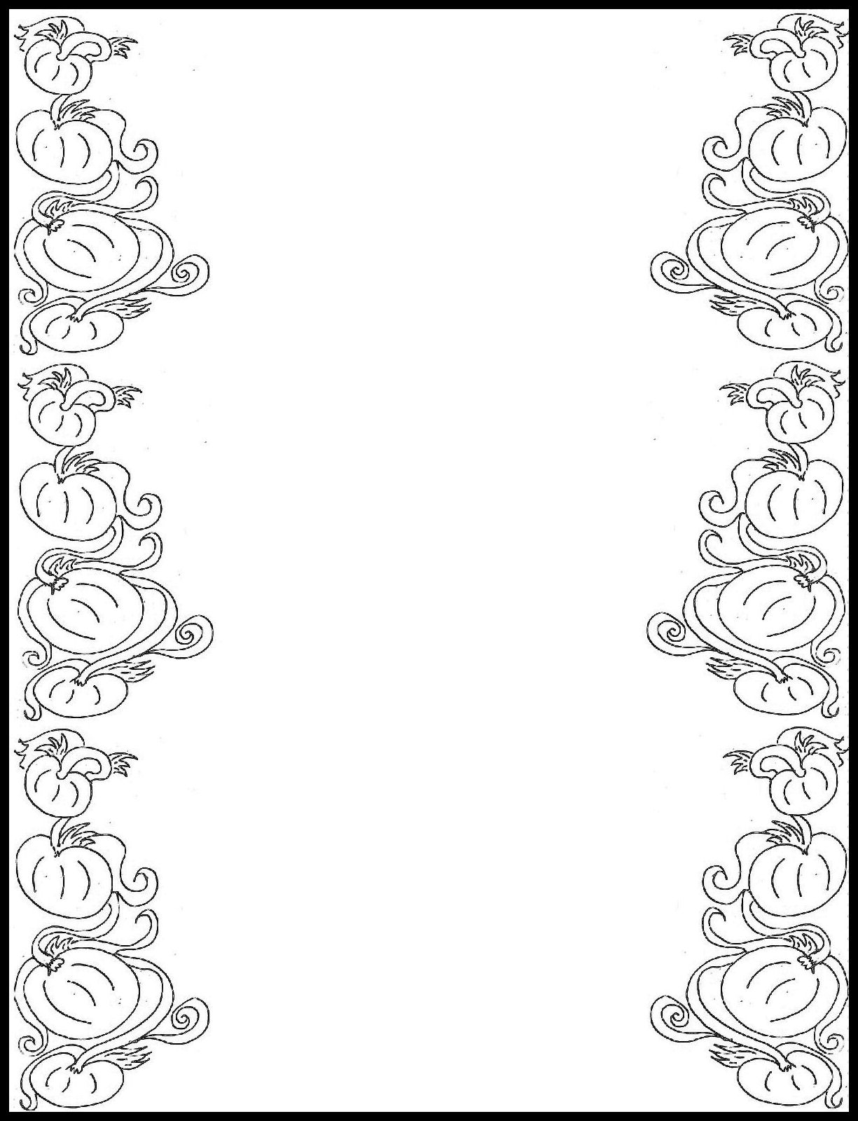 Free Free Printable Border Designs For Paper Black And White - Writing Borders Free Printable