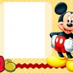 Free Free Printable Custom Mickey Mouse Baby Shower Invitation   Free Printable Mickey Mouse Invitations