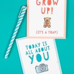 Free Funny Printable Birthday Cards For Adults   Eight Designs!   Free Printable Birthday Cards For Her