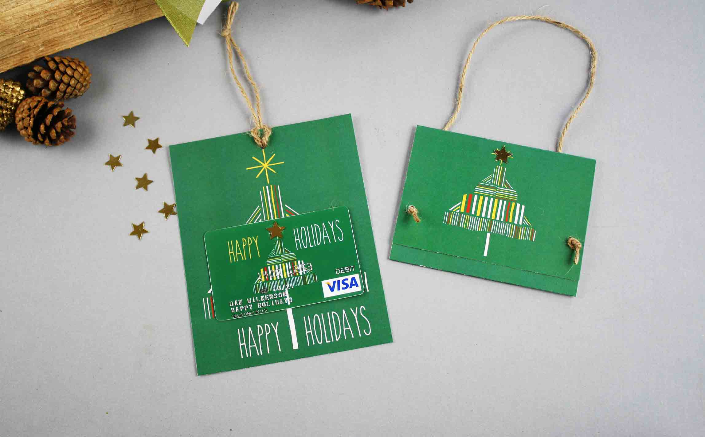 Free Gift Card Printable: Happy Holidays | Gcg - Make A Holiday Card For Free Printable