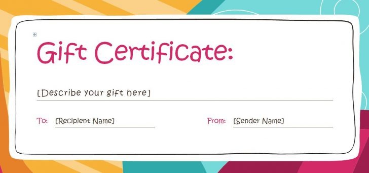 Free Printable Blank Certificate Templates