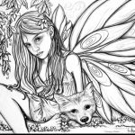 Free Gothic Fairy Coloring Pages Luxury Printable Colouring Pages   Free Printable Coloring Pages For Adults Dark Fairies