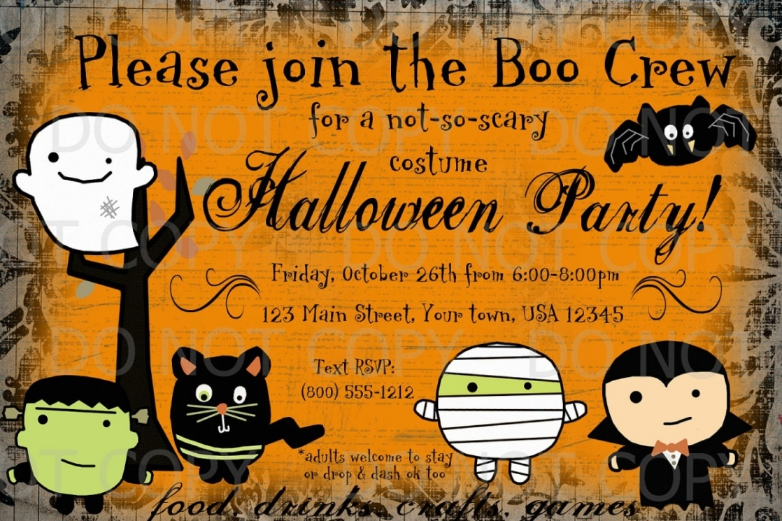 Free Halloween Party Invitation Templates Free Halloween Party - Free Online Halloween Invitations Printable