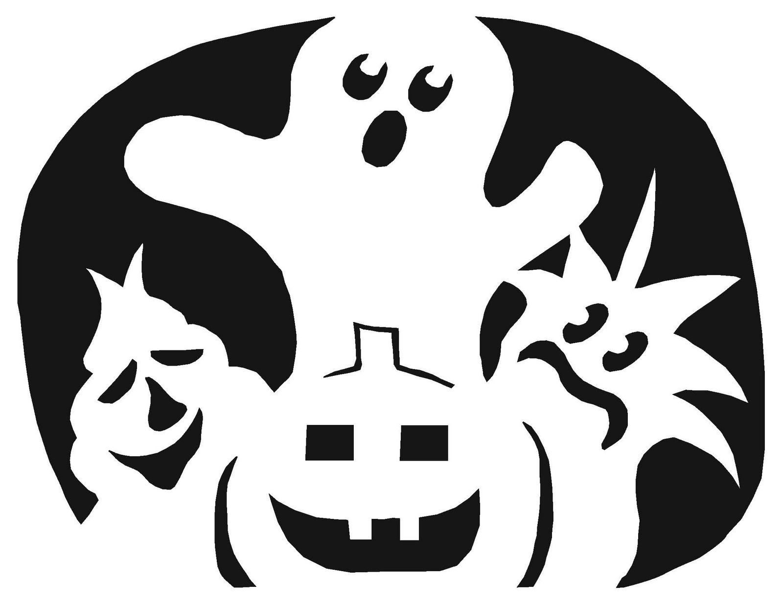Free^ Halloween Pumpkin Carving Templates To Print And Download 2018 - Free Printable Pumpkin Carving Stencils For Kids