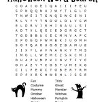 Free Halloween Word Search & Counting Printables   Free Printable Dinosaur Word Search