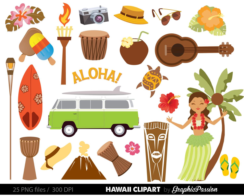 Free Hawaii Cliparts, Download Free Clip Art, Free Clip Art On - Free Printable Luau Clipart