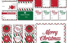 Free Printable Christmas Tent Cards