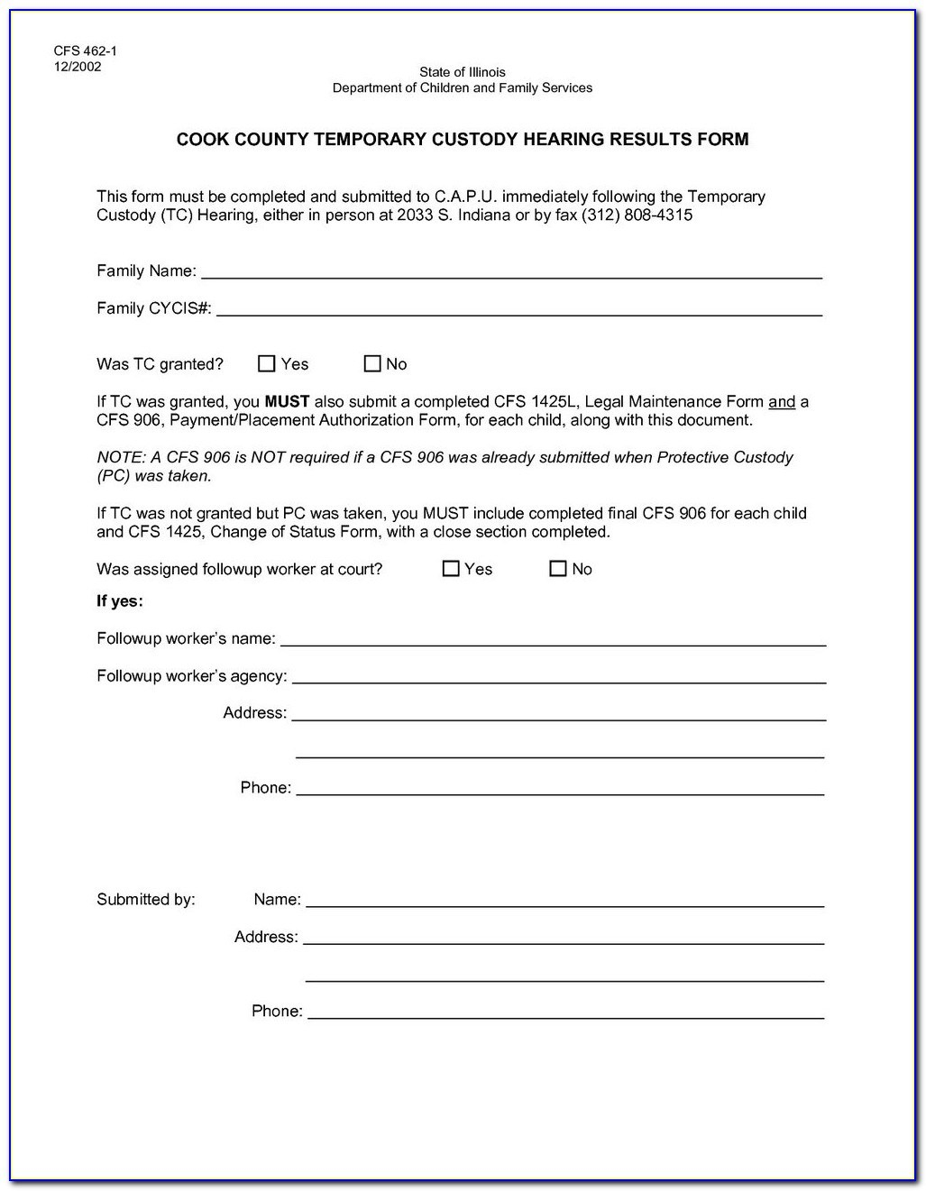 picture regarding Free Printable Temporary Guardianship Form known as Totally free Indiana Short term Guardianship Style Style Resume