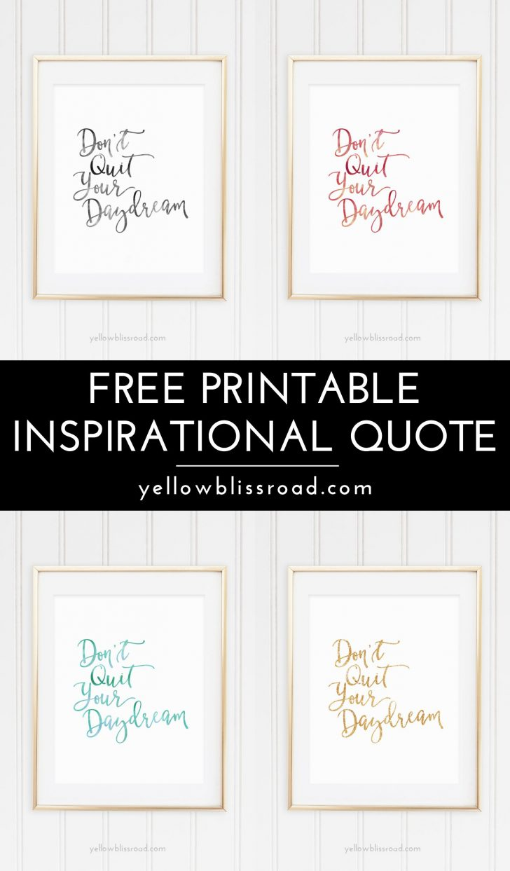Free Printable Quotes Templates