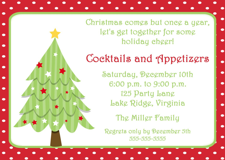 Free Invitations Templates Free | Free Christmas Invitation - Free Printable Christmas Party Flyer Templates