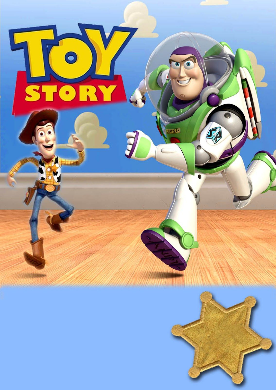 Free Kids Party Invitations: Toy Story Party Invitation *new* | Toy - Free Printable Toy Story 3 Birthday Invitations