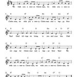 Free Lead Sheet – We Wish You A Merry Christmas | Free Sheet Music   Free Christmas Sheet Music For Keyboard Printable