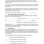 Free Living Will Forms (Advance Directive)   Medical Poa   Pdf   Free Printable Living Will