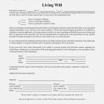 Free Living Will Forms To Print Elegant Best S Of Template Printable   Free Printable Living Will
