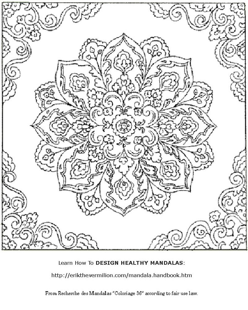 Free Mandala Coloring Book Printable Pages | Coloring-Mandalas - Free Printable Mandala Coloring Pages For Adults