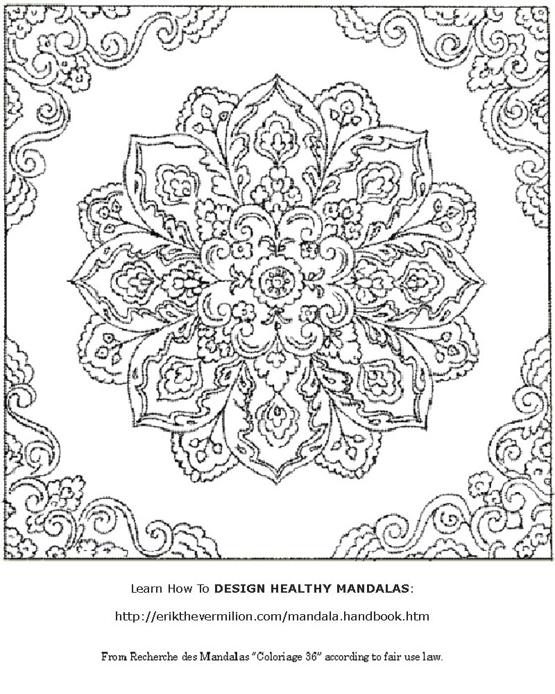 Free Mandalas To Print   Free Mandala Coloring Book Printable Pages - Mandala Coloring Free Printable
