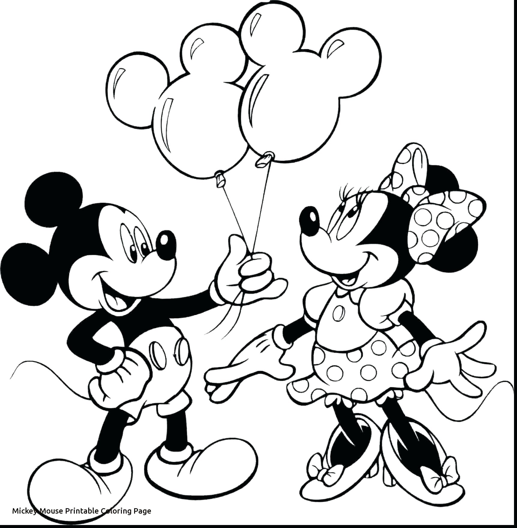Free Minnie Mouse Coloring Pages | Scagraduatecouncil - Free Printable Minnie Mouse Coloring Pages