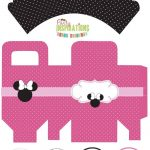 Free Minnie Mouse Party Printables   Cupcake Wrappers, Favor Boxes   Free Printable Minnie Mouse Cupcake Wrappers