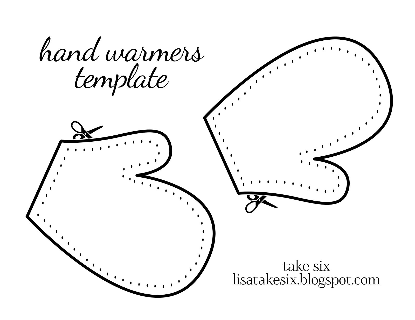 Free Mitten Outline Cliparts, Download Free Clip Art, Free Clip Art - Free Mitten Template Printable