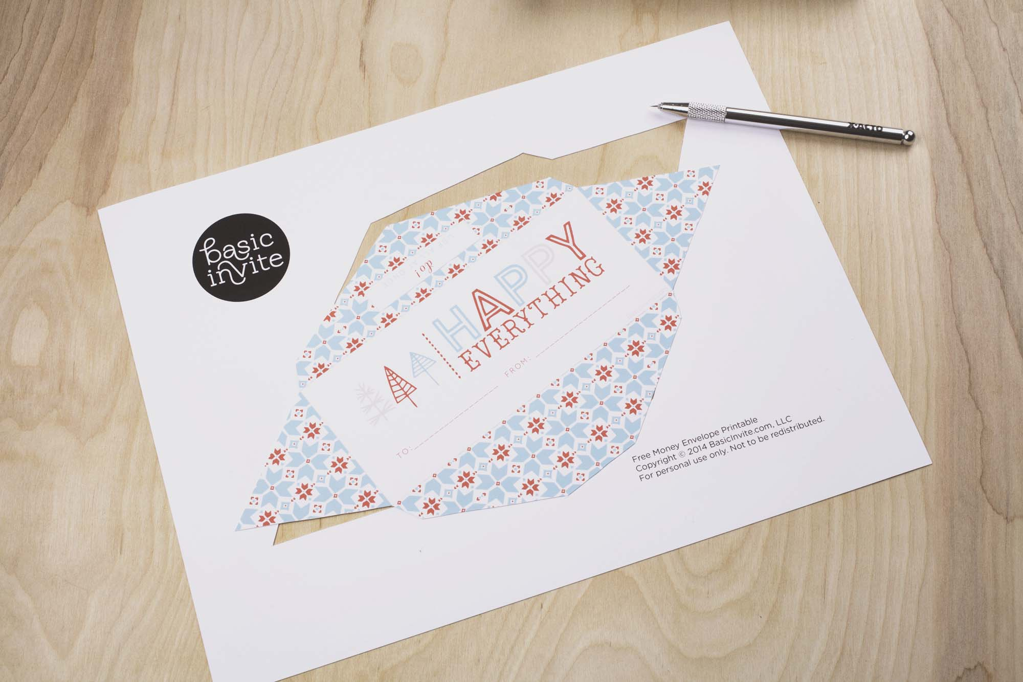 Free Money Envelope Printable Archives - Free Printable Money Envelopes