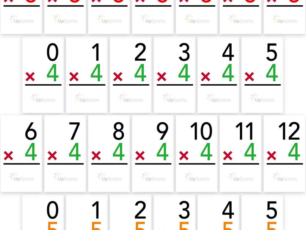 Flash Cards Multiplication Free Printable | Free Printable