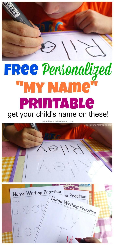 Free Name Tracing Worksheet Printable + Font Choices   Classroom - Free Printable Name Tracing Worksheets