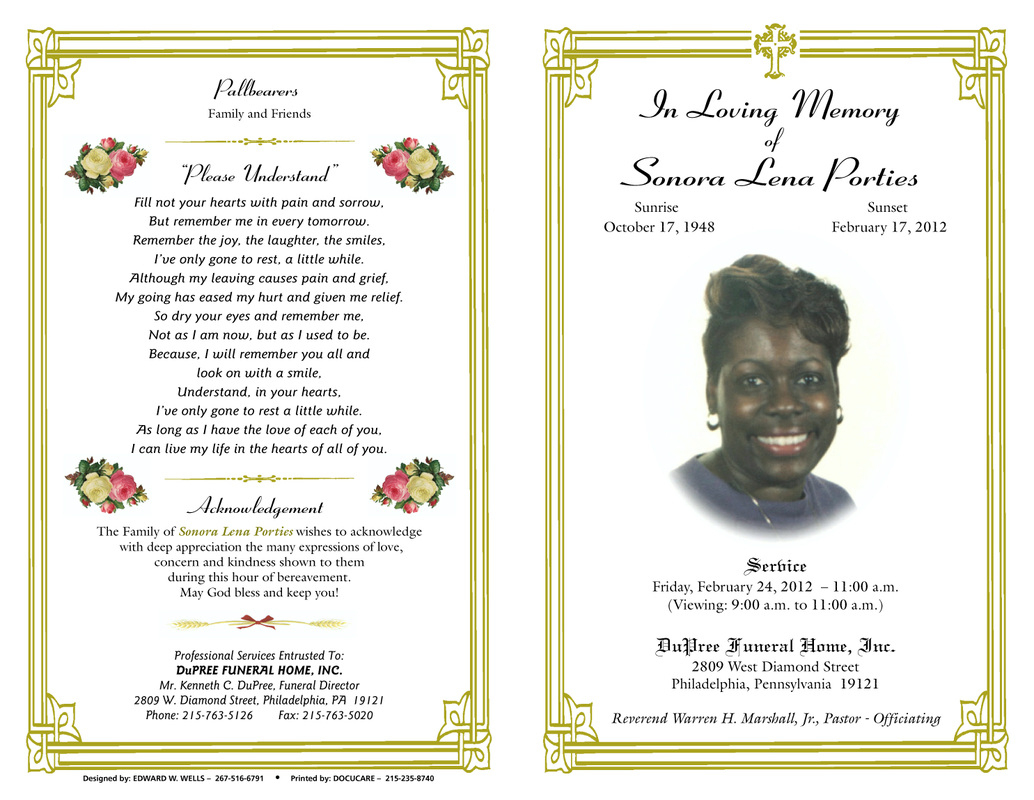 Free Obituary Cliparts Borders, Download Free Clip Art, Free Clip - Free Printable Obituary