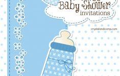 Free Baby Shower Invitation Maker Online Printable