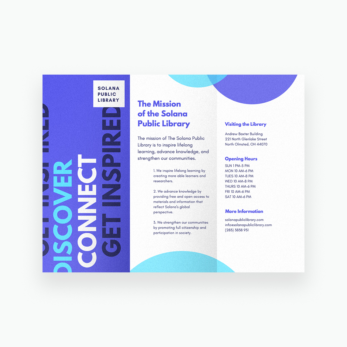 Free Online Brochure Maker: Design A Custom Brochure In Canva - Online Brochure Maker Free Printable