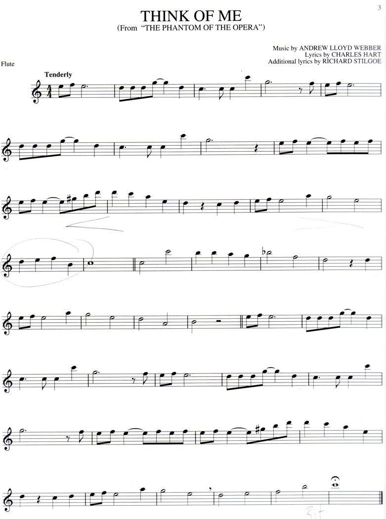 Free Online Flute Sheet Music. I May Not Play The Flute But I Will - Free Printable Flute Music