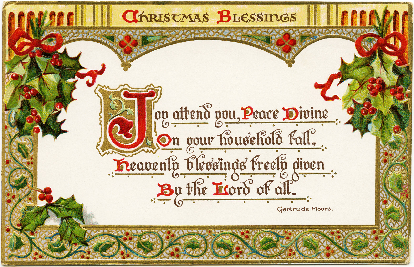 Free Online Printable Religious Christmas Cards – Festival Collections - Free Printable Christian Cards Online
