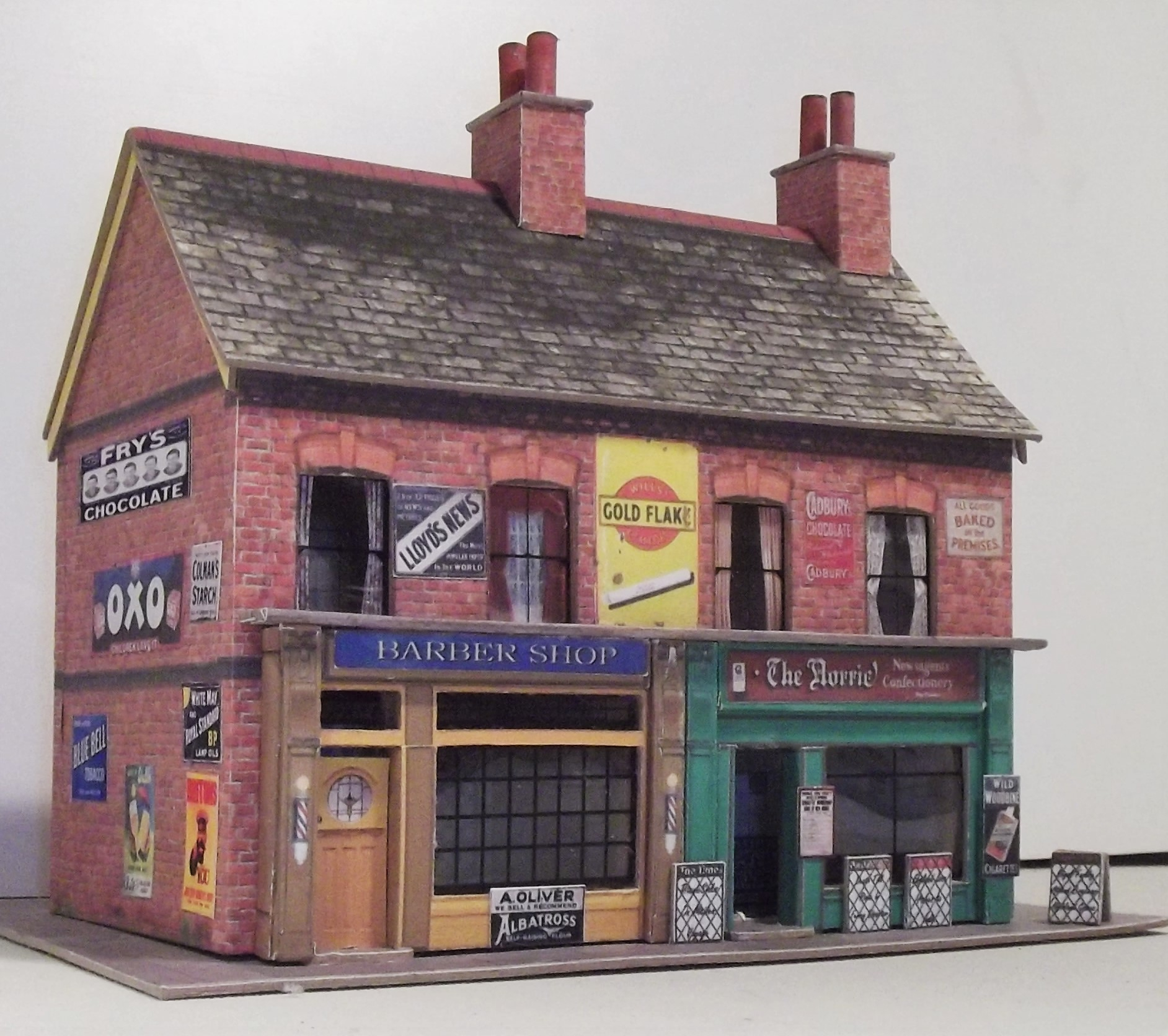 image about Free Printable Ho Scale Buildings identified as Totally free Oo Gauge Ho Scale Creating Kits Fergus 3Dk - Totally free