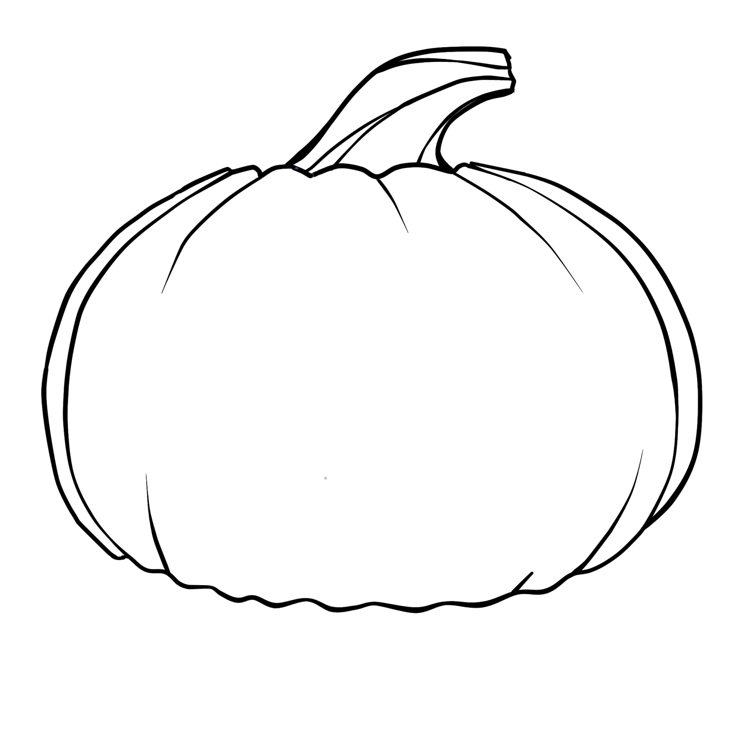 Free Outline Of A Pumpkin, Download Free Clip Art, Free Clip Art On - Pumpkin Templates Free Printable