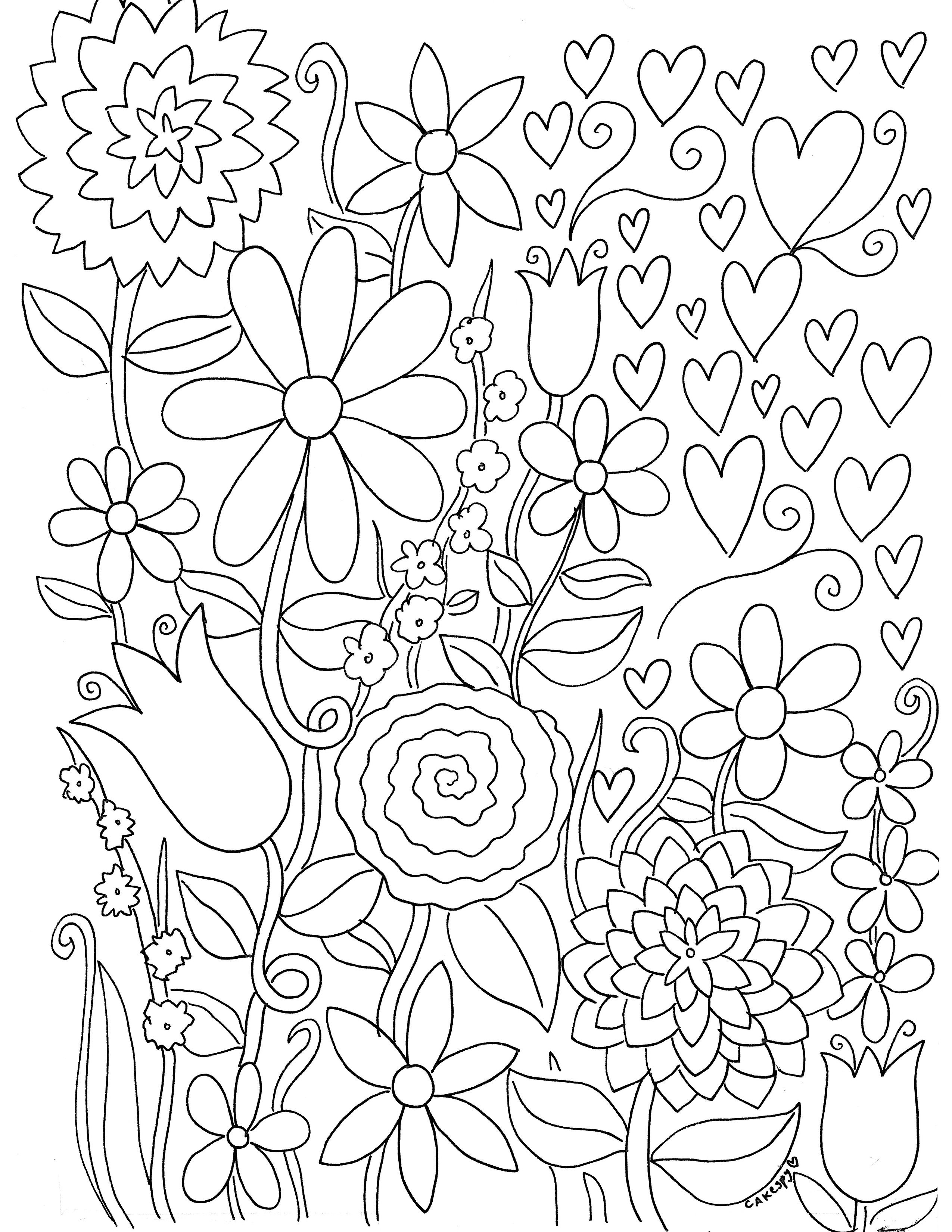 Free Paintnumbers For Adults Downloadable | *printable Art - Free Printable Coloring Book Pages For Adults