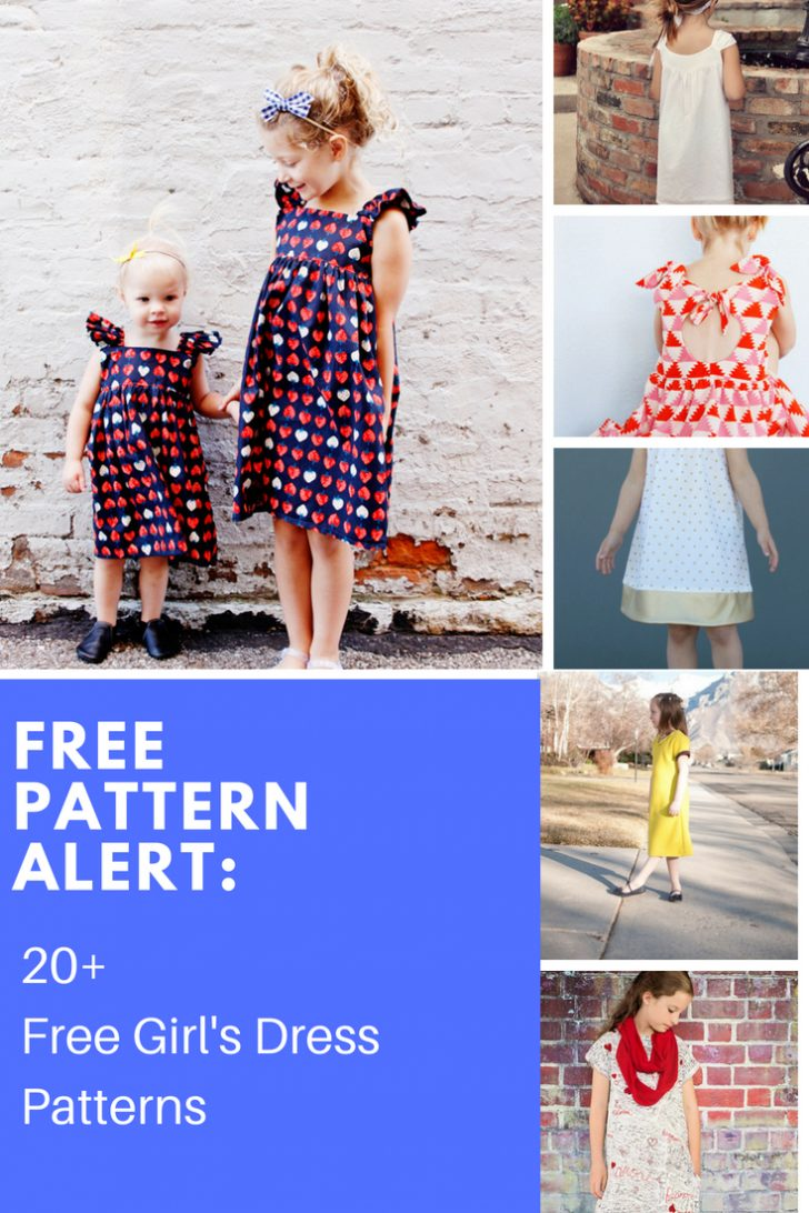 Free Printable Pillowcase Dress Pattern