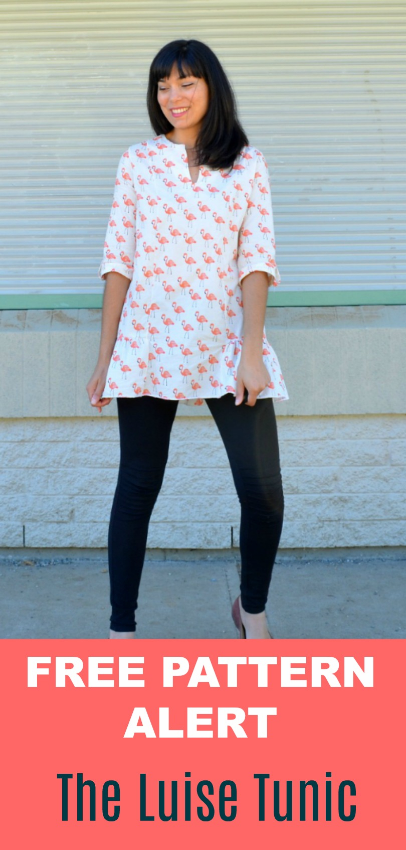 Free Pattern Alert: The Luise Tunic Pdf - On The Cutting Floor - Free Printable Blouse Sewing Patterns