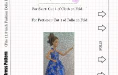 Free Patterns For #easydiy Barbie #dolls #dresses @ Chellywood – Easy Barbie Clothes Patterns Free Printable