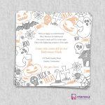 Free Pdf Download. Halloween Party Invitation Template | Wedding   Free Printable Halloween Wedding Invitations