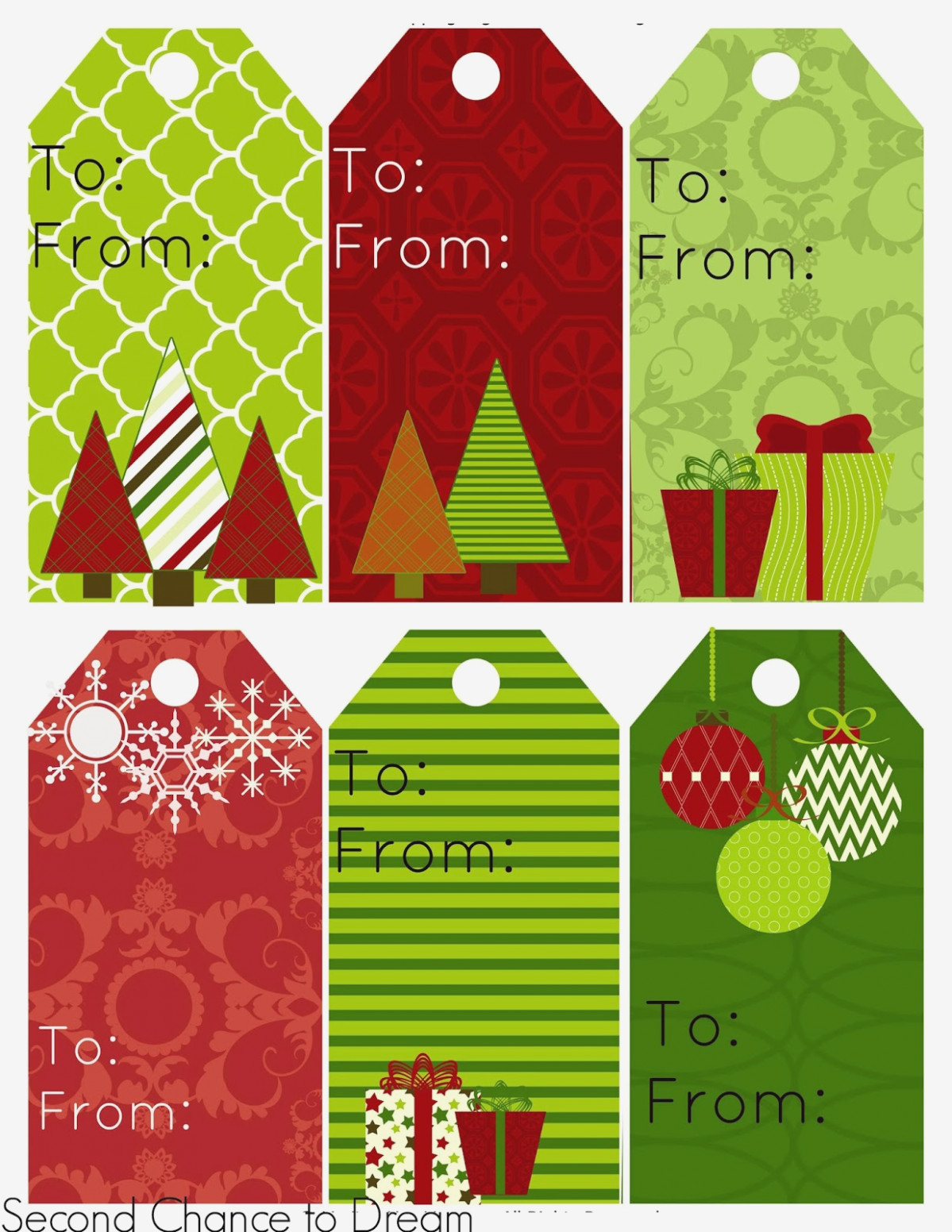 Free Personalized Christmas Gift Tags To Print – Fun For Christmas - Free Printable Gift Tags Personalized