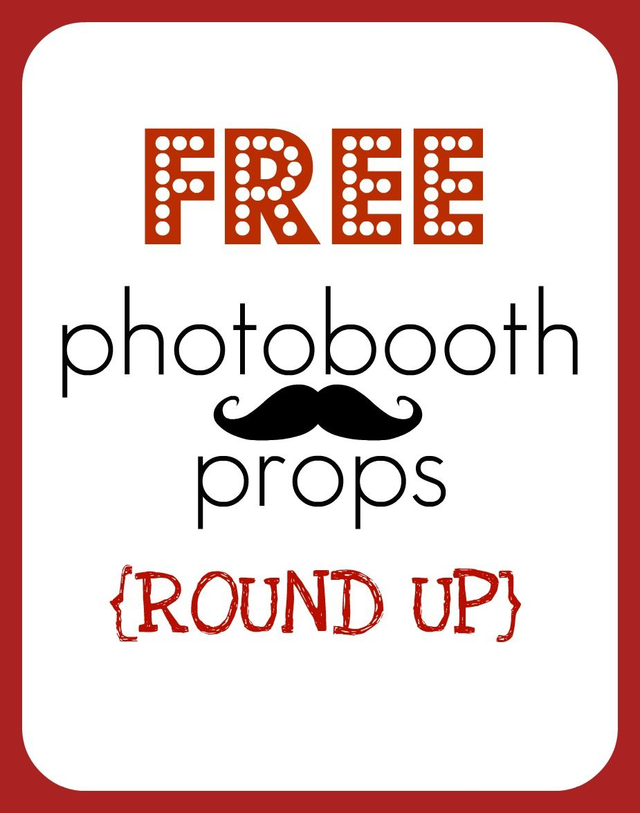 Free Photo Booth Props - Printable | Homecoming | Pinterest | Photo - Free Printable Smile Your On Camera