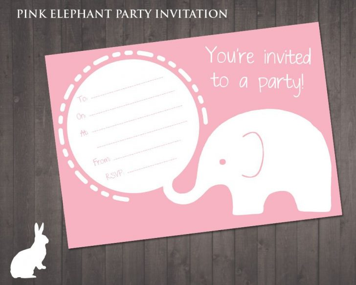 Free Printable Cheetah Birthday Invitations
