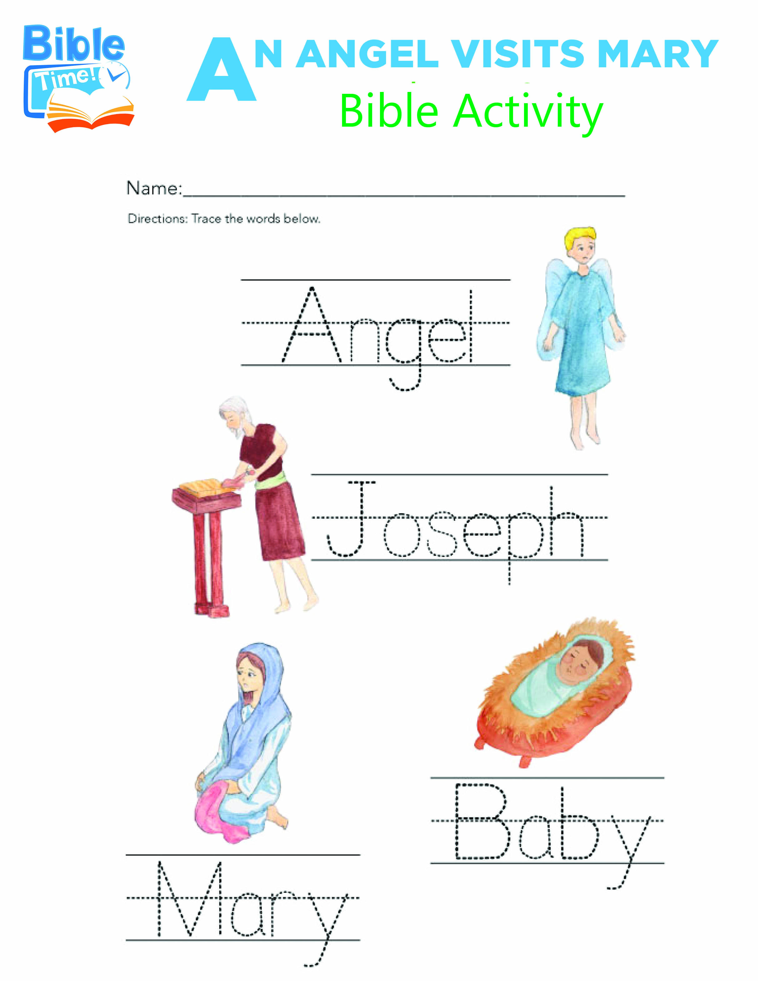 Free Preschool Bible Activities | Kids Bible Printable | Children's - Free Printable Sunday School Lessons For Kids