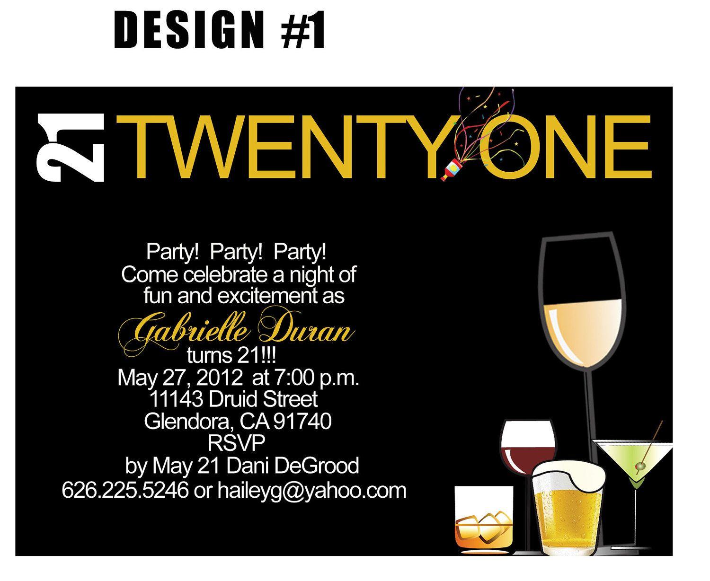 Free Printable 21St Birthday Invitations Templates 21St Birthday - Free Printable Birthday Invitations For Him