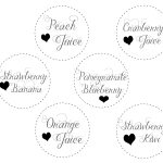 """Free Printable 3"""" Tags For A Mimosa Bar 