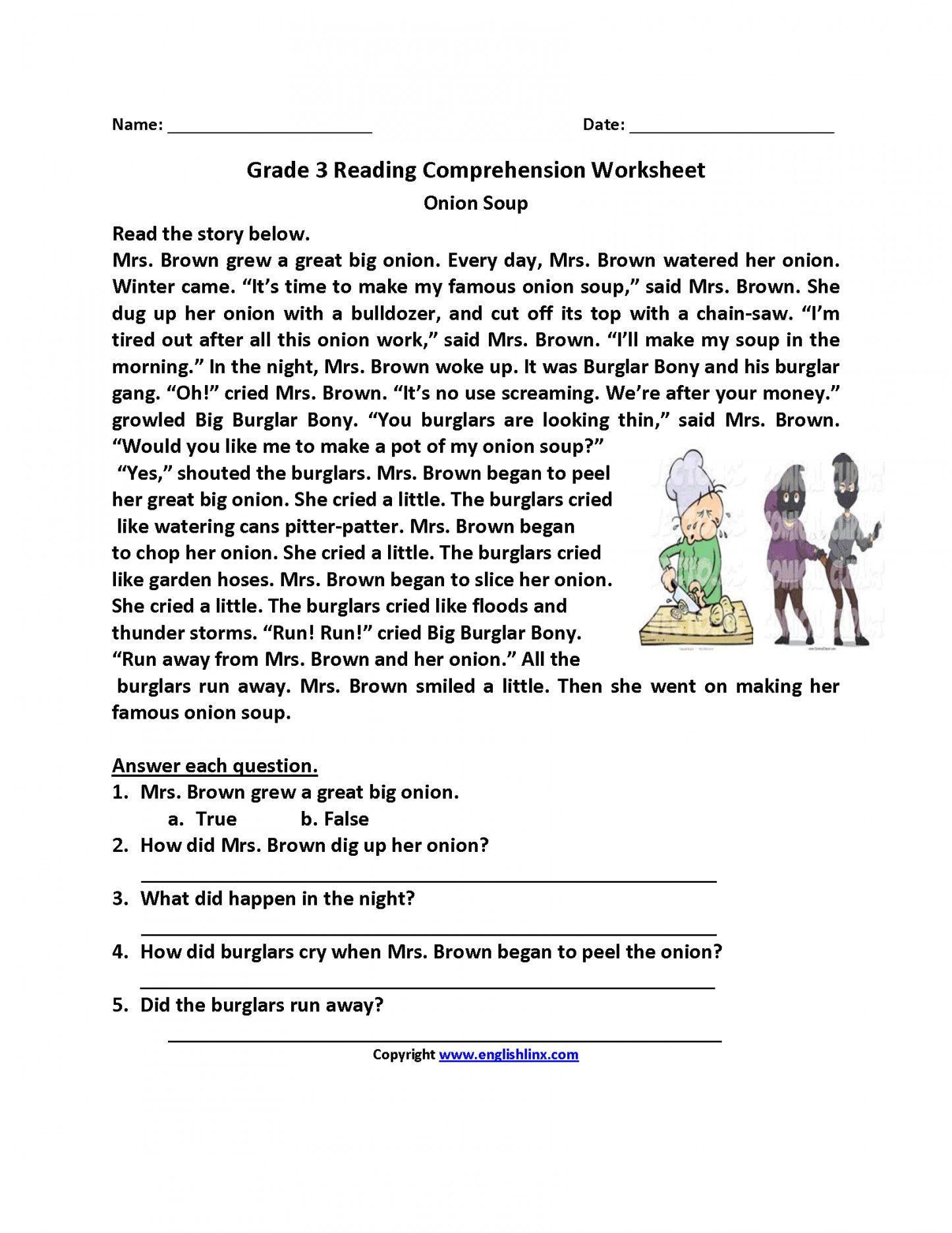 Free Printable 3Rd Grade Reading Worksheets | Lostranquillos - Third Grade Reading Worksheets Free Printable