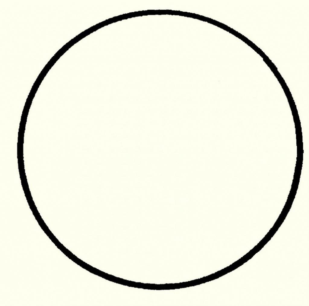 Free Printable 6 Inch Circle Template – Freetmplts Within Free - Free Printable 6 Inch Circle Template